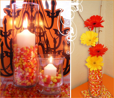 I JUST LOVE THE CANDY CORN DECOR!