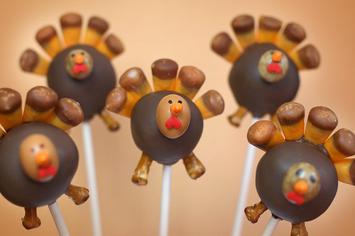 Bakerella's Turkey Pops