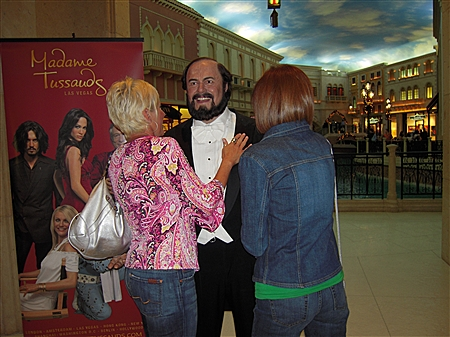 An unexpected birthday greeting from Pavarotti!