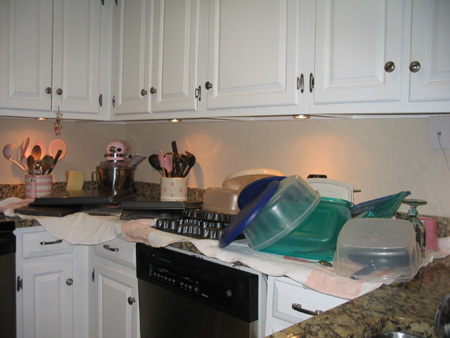 Mother of all kitchen messes!