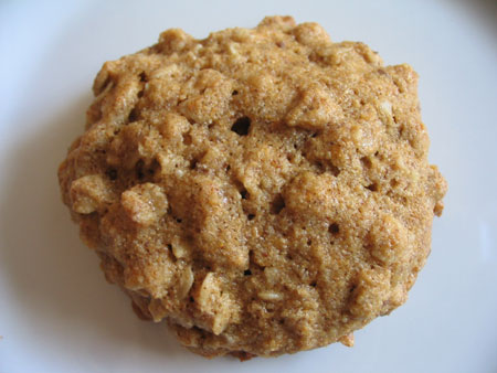 Agave Coconut Oatmeal Cookie