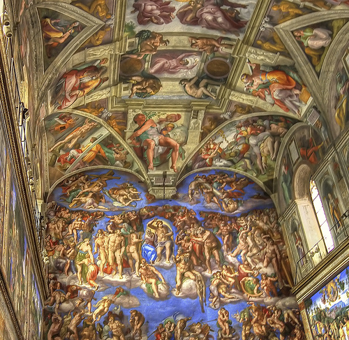 Sistine Chapel (Flikr photo by vgm8383)