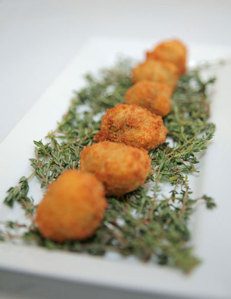 Giada's Italian Fried Olives