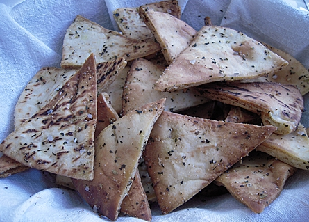 homemade-pita-chips