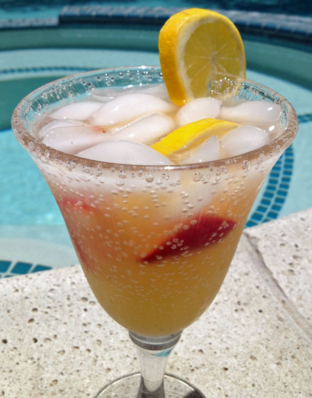 Summertime Vodka Lemonade Fizz