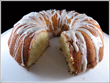 Key Lime Bundt Cake with Margarita Icing