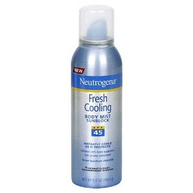 Neutrogena Fresh Cooling Mist 45 SPF