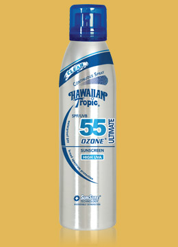 Hawaiian Tropic SPF 55 Spray