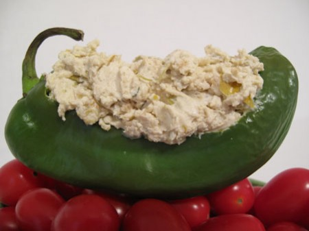 Hatch Green Chile and Garlic Goat Cheese