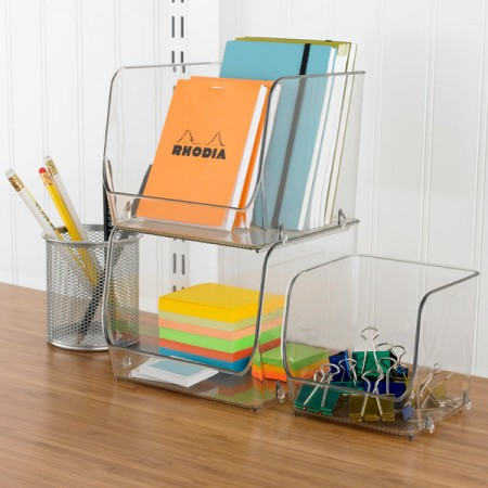 Translucent Stacking Boxes