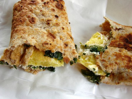 Starbucks egg white wrap