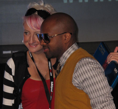 Jermaine Dupri at BlogWorld