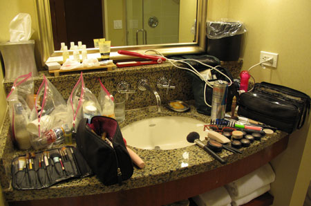 Vegas Bathroom Mess