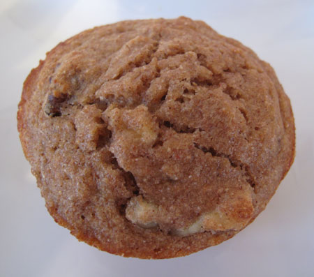 Banana Wheat Germ Muffin Top