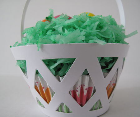Easter Basket Cupcake