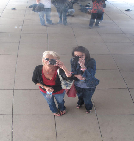 Chicago Bean Millennium Park Camera