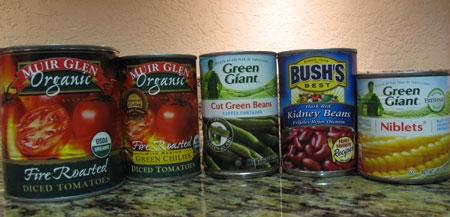 Vegetable Stew Cans