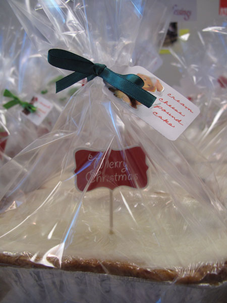 SPCA Bake Sale Pound Cake
