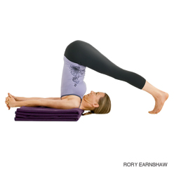 Plow Pose (Photo Credit: Yoga Journal)