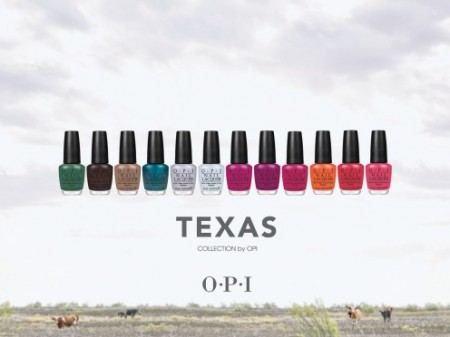 OPI Spring 2011 Texas Collection