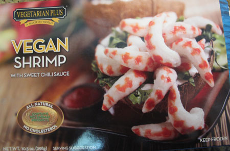 Super Bowl Vegan Shrimp Appetizer