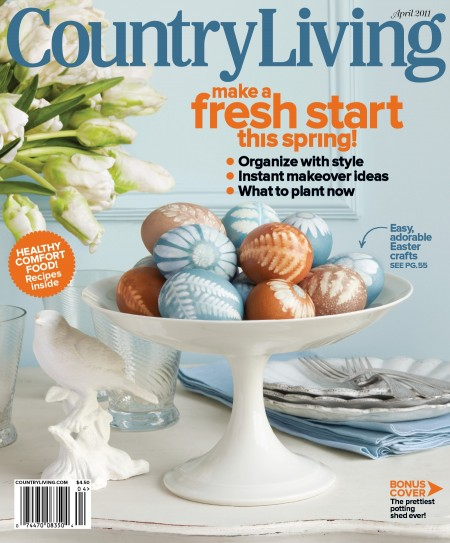 Country Living Magazine April 2011 Issue