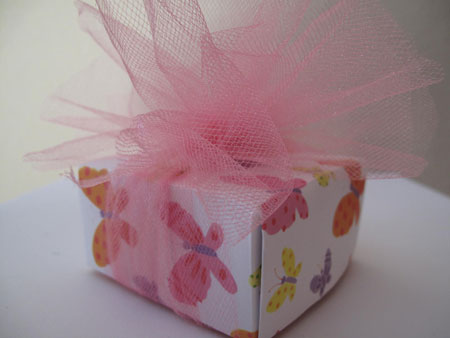 Origami Box Tulle Done