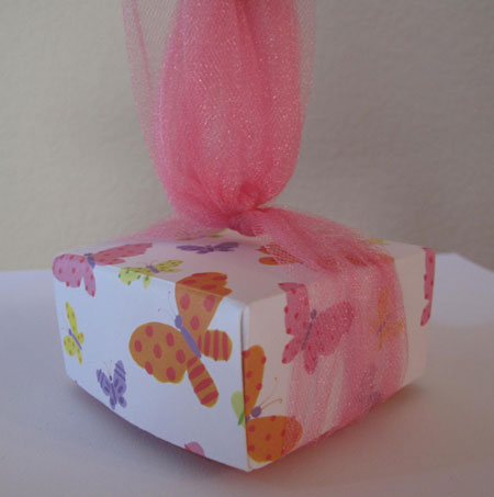 Origami Box Tulle Up