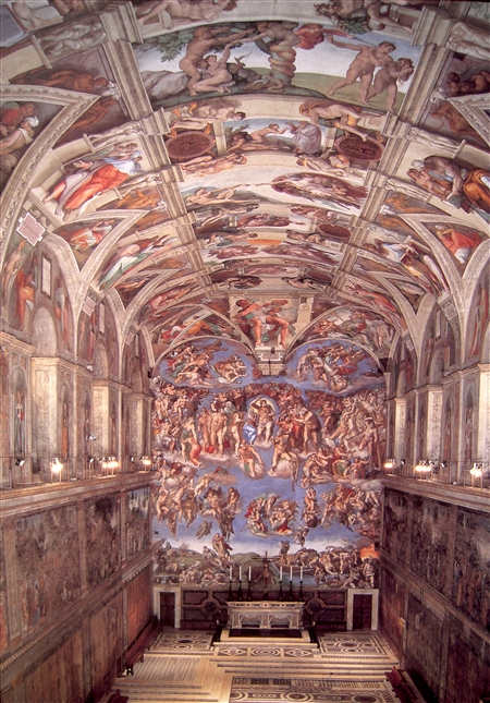 Sistine Chapel on Inspiration Board