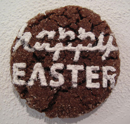 Chocolate Cookie Decorate Easter