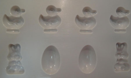 Easter Chocolate Candy Mold