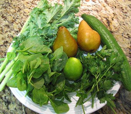 Green Juice Fruit Veg