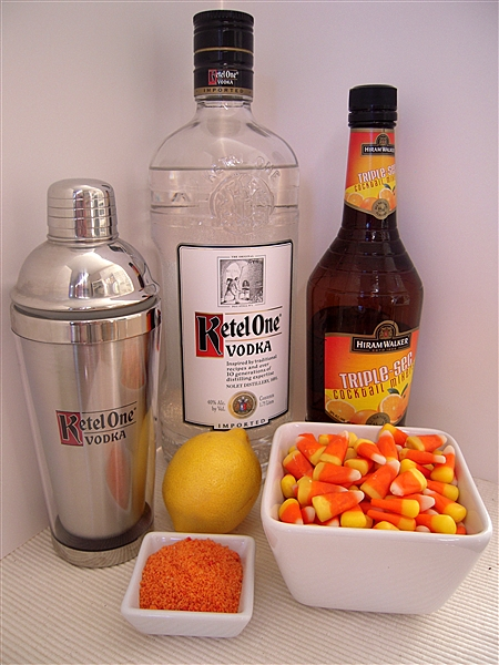 Candy Corn Martini Ingredients