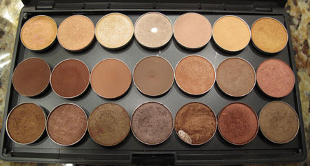 MAC Depot Warm Palette