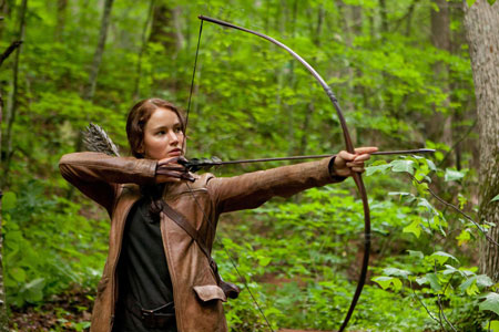 Hunger Games Katniss Bow