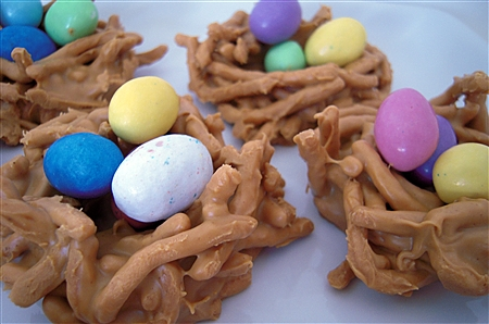 Easter Bird's Nest Candy