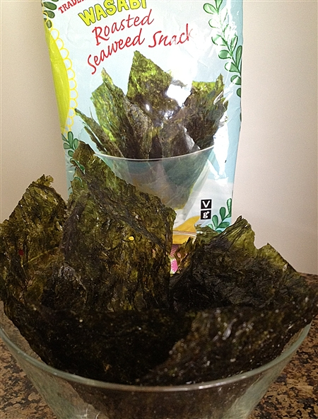 Trader Joe's Roasted Seaweed Snacks