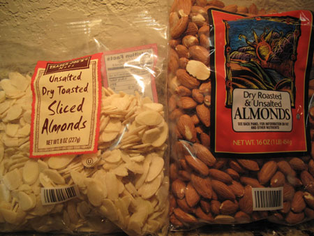 Trader Joe Almonds