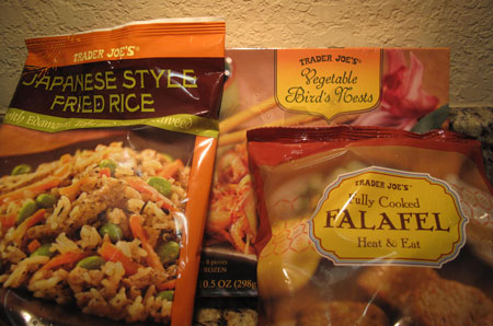 Trader Joe Frozen Entrees