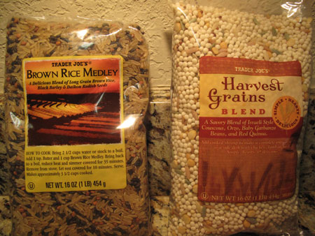 Trader Joe Grains