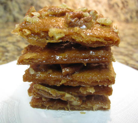 Graham Cracker Pralines Vegan
