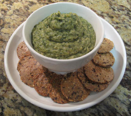 Creamy Healthy Vegan Spinach Dip
