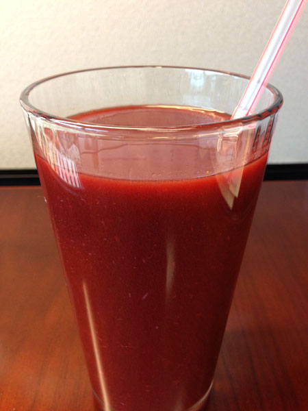 Homemade Spicy V8 Juice Recipe