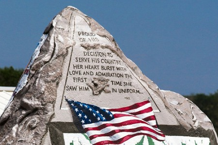 Memorial Day Freedom Rock